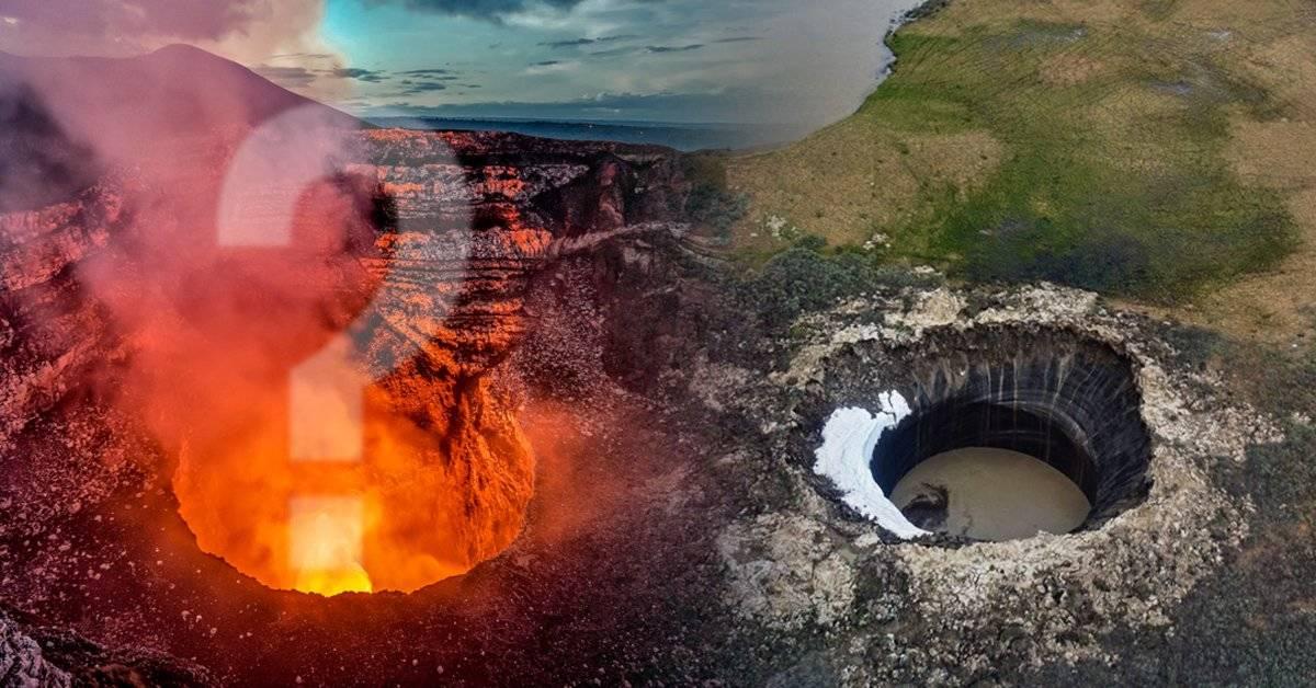 """Qué es """"el cráter del fin del mundo"""" y cómo se produjo"""
