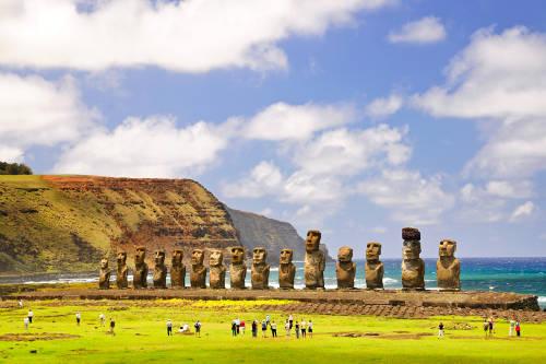 Rapa Nui: recolectaron más de 1000 kilos de basura en una limpieza voluntaria
