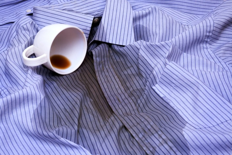 manchas ropa cafe