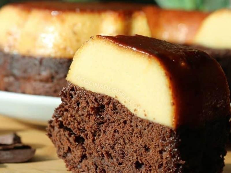 """Cómo preparar chocoflán o \""""pastel imposible\"""""""