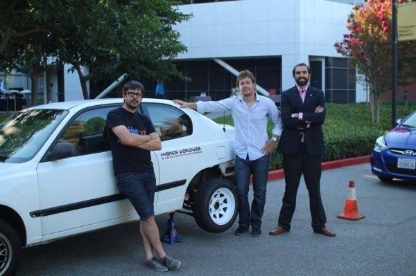 Un argentino ideó un kit que permite convertir cualquier auto en híbrido