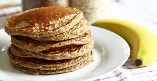 Receta rápida y sencilla para hacer panqueques con solo dos ingredientes