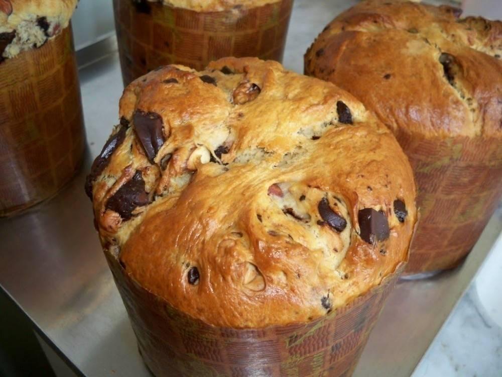 3 variedades de pan dulce (tradicional, vegano y sin TACC)
