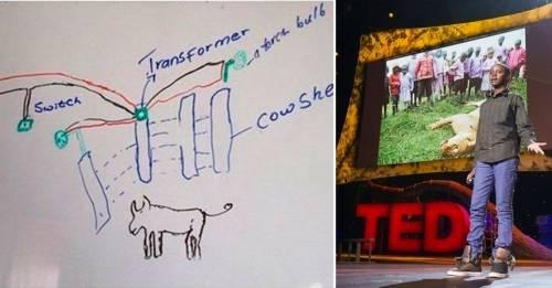 El ingenioso invento de este niño salvó a los leones y la economía de su pu..