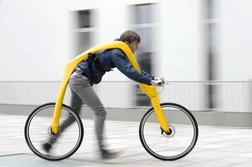 Este vehículo te permite correr y andar en bicicleta al mismo tiempo
