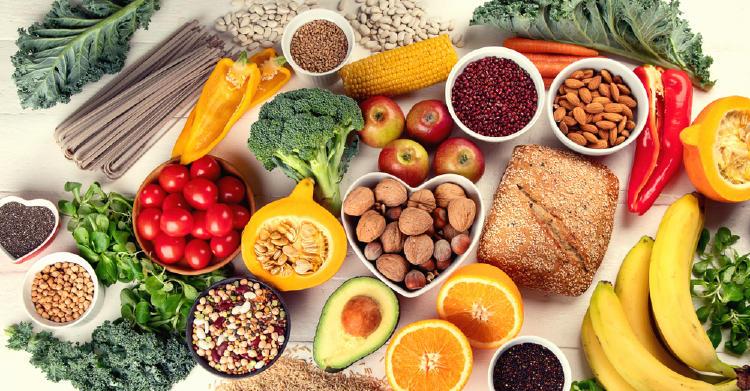 fibra alimentaria alimentos comida