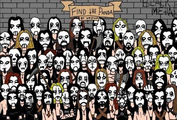 encuentra al panda