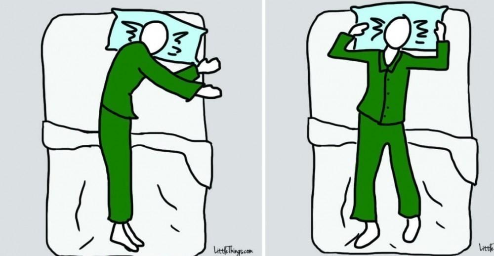 Dormir posiciones para del bien cuerpo