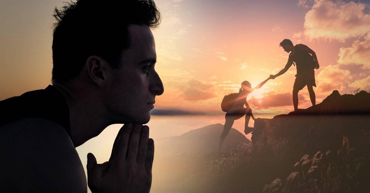 ¿Qué es la autotrascendencia? Pensar más allá de uno mismo para cambiar drástica