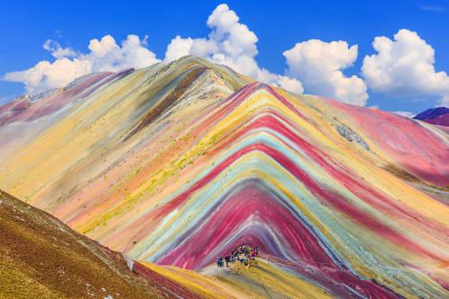 montaña siete colores vinicunca arcoiris peru