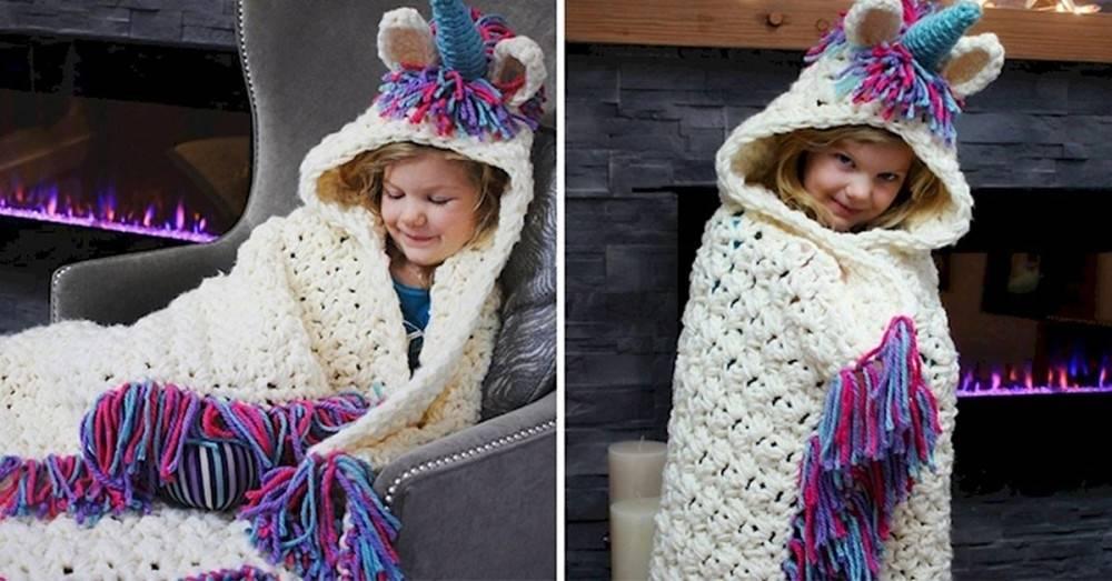 Estas mantas de unicornio enamoran a los adultos que se sienten niños