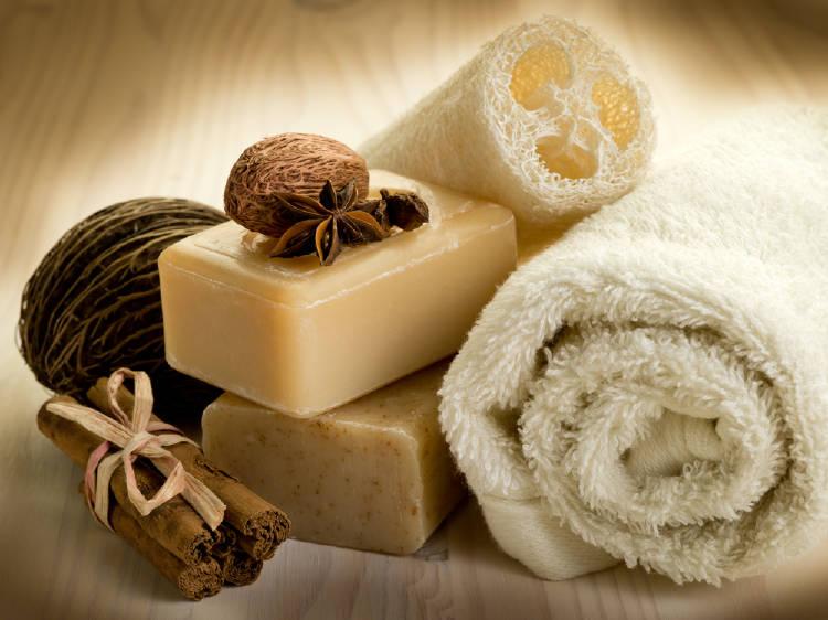 Productos de baño naturales
