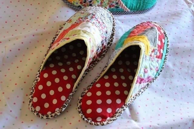 Cómo hacer pantuflas para estar en casa