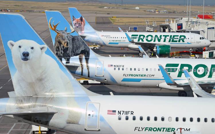 Volar gratis en Frontier Airlines