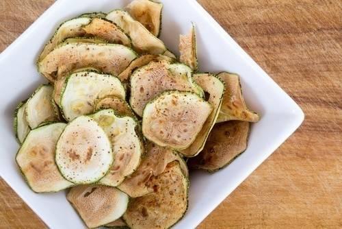 Chips de calabacín para cualquier ocasión