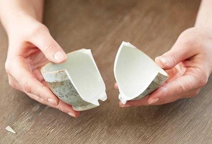 Técnica japonesa para reparar cerámicas rotas