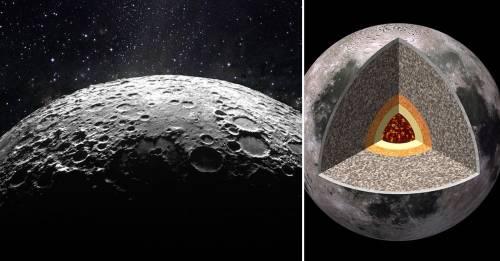 ¿Qué tiene la luna en su interior?