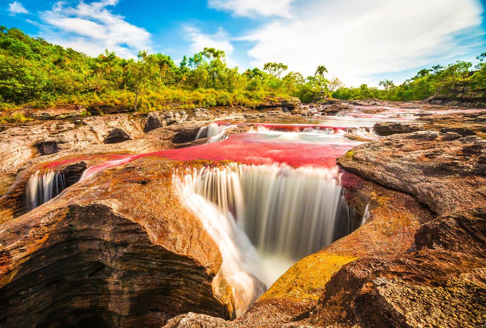 Conoce Caño Cristales, el imperdible río de colores que se escapó del paraíso