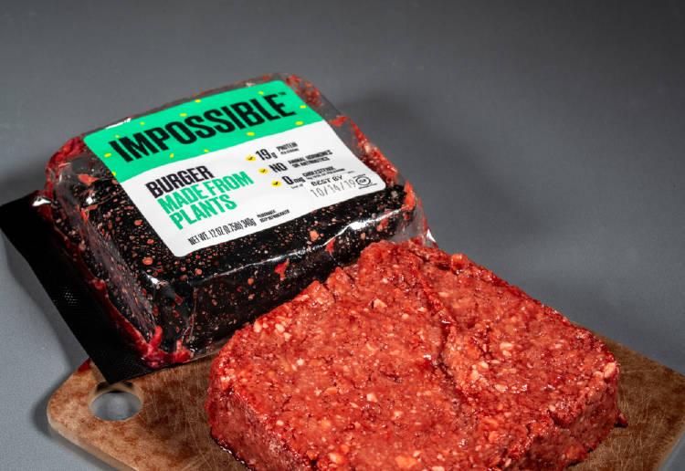hamburguesa vegetariana imposible