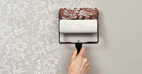 Cómo renovar las paredes con rodillos de pintura