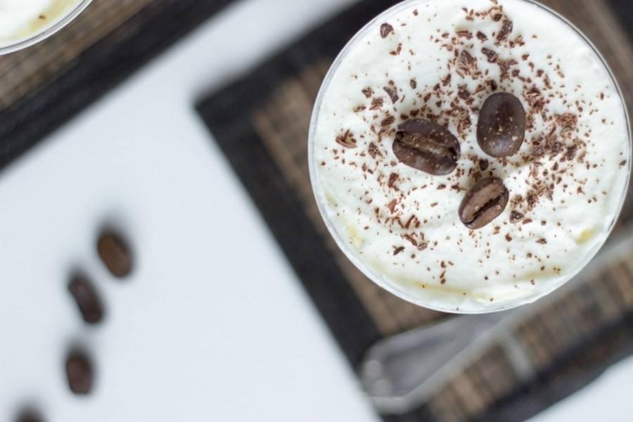 Pudding de café y chía