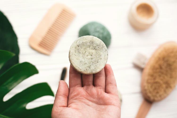 champu solido cosmética natural