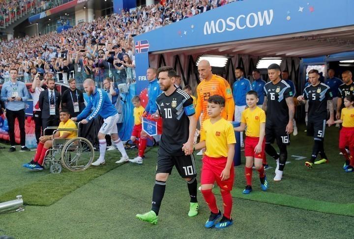 Javier Mascherano lo llamó por su nombre y le dijo que estaba seleccionado para ir al Mundial
