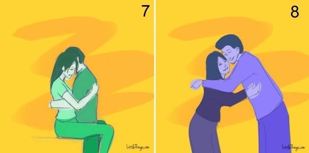 Qué dice sobre las relaciones la forma de abrazar