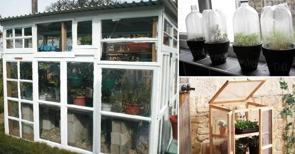 Originales ideas de invernaderos para tu jardín