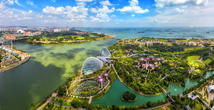 singapur vista panorámica