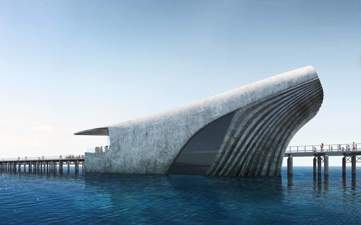 Conoce el impresionante observatorio en forma de ballena