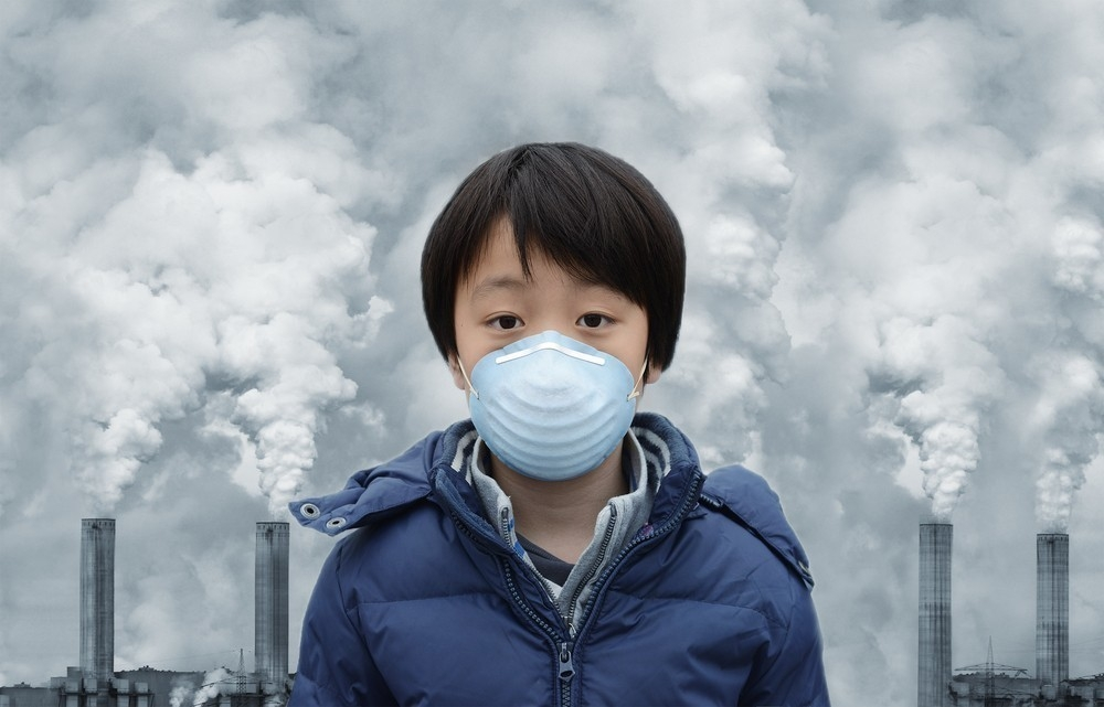 cómo afecta la contaminación a los niños