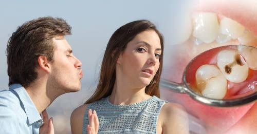 Razones por las que tu pareja puede contagiarte las caries