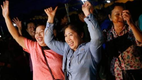 Finaliza con éxito el rescate de los 12 niños y su entrenador en Tailandia