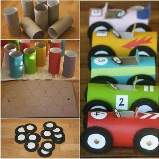 Trabajos de reciclaje para niños de inicial - Imagui