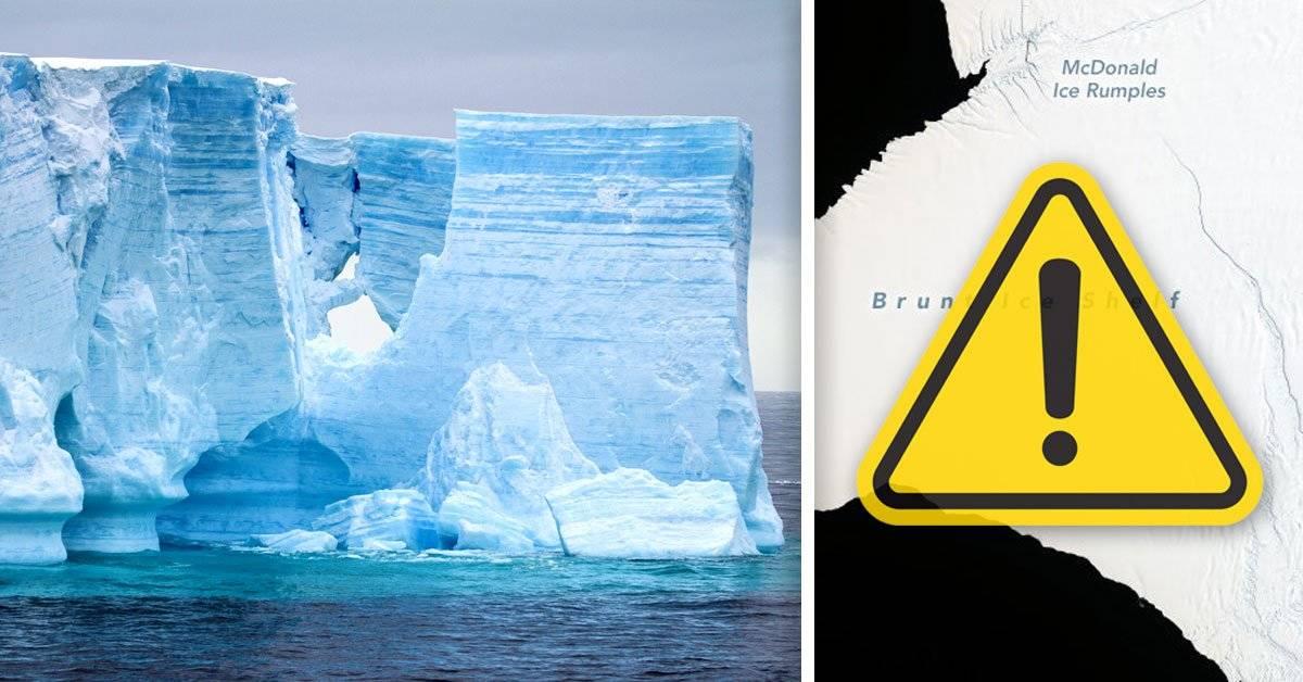 Un bloque de hielo dos veces más grande que Nueva York se desprenderá de la Antártida