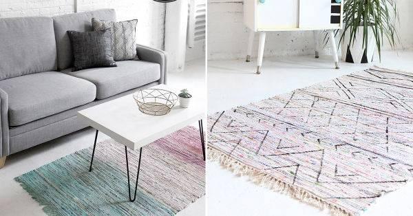 Una alfombra, dos opciones para personalizarla tú mismo
