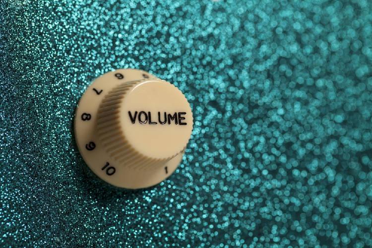 volumen sonido