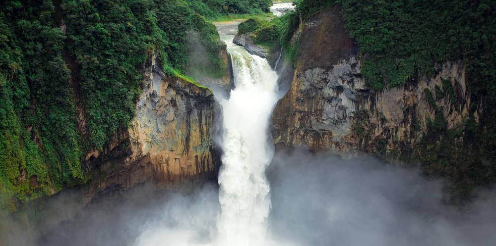 Por qué desapareció la cascada más grande de Ecuador