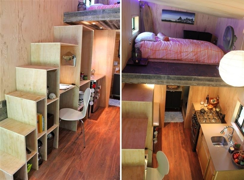Un estudiante construy una casita que lo librar de deudas for Diseno de apartamentos para estudiantes