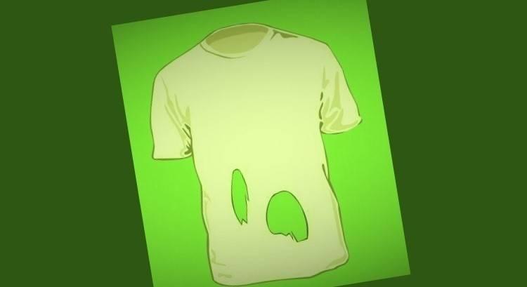 No es tan obvio: ¿Cuántos agujeros tiene esta camisa?
