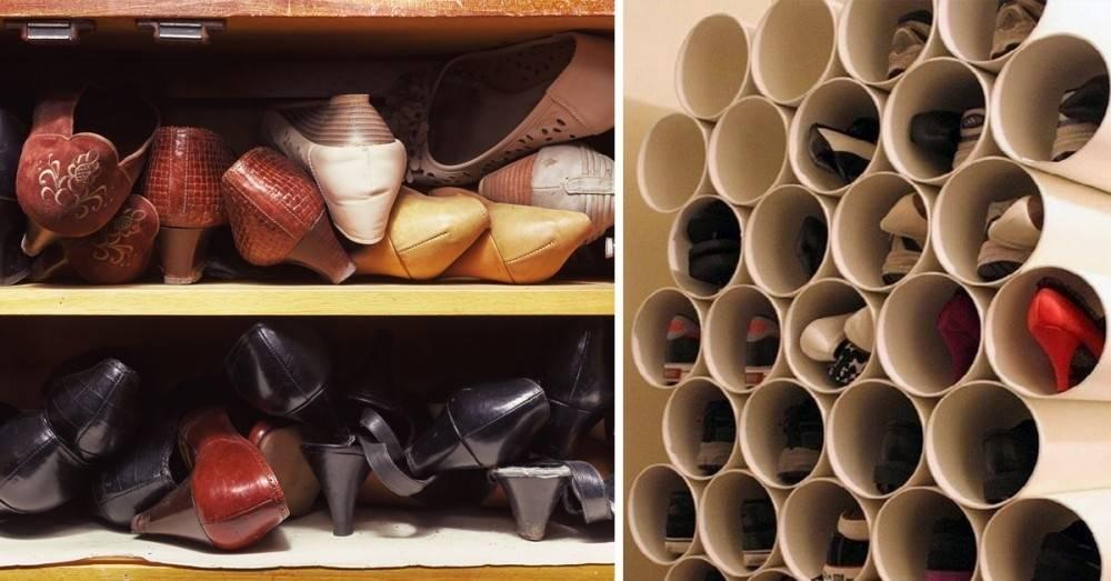 4 trucos para ordenar tus zapatos y que no sean un estorbo