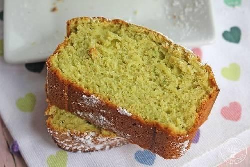 Delicioso pastel de aguacate y limón