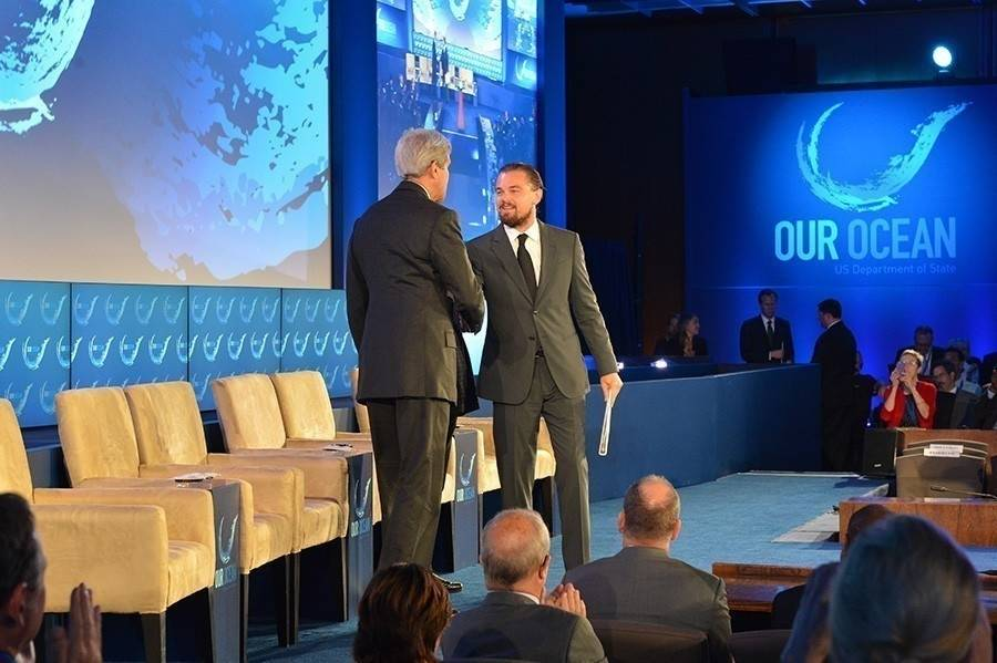 Leonardo Di Caprio alzó su voz en contra de la pesca ilegal en el mundo
