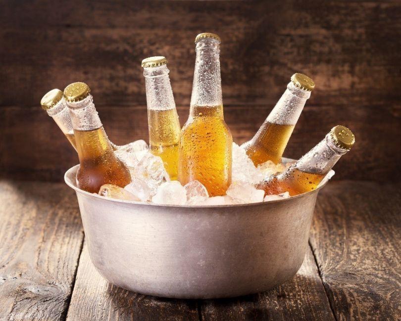 enfriar la cerveza