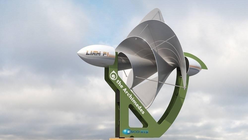 Un aerogenerador urbano que puede hacer a los hogares energéticamente autóno..