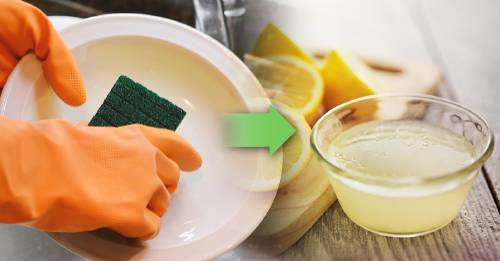 Ideas para reemplazar detergentes por productos más naturales