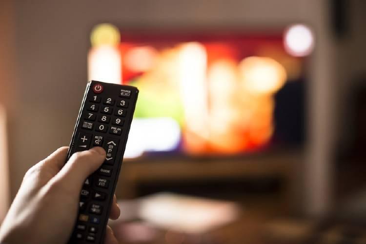 control remoto de la television