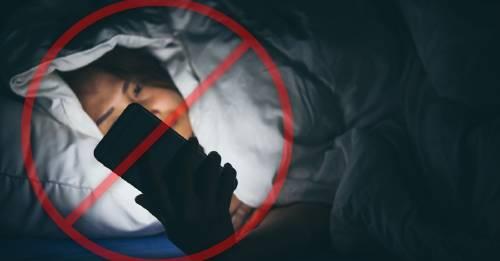 9 cosas que nunca deberías hacer antes de dormir y no lo sabes