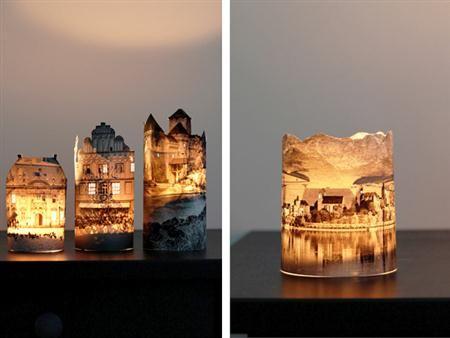 Bricolage-lámparas-con-fotografías-2-Custom